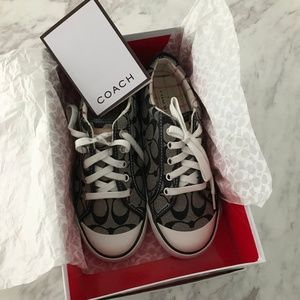Coach Barrett sneakers (Black & White)